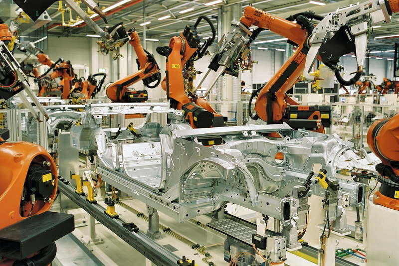 Automatizacion Industrial y Robotica En Europa