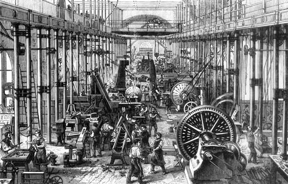 La Revolucion Industrial Dio Origen A La Automatizacion Industrial