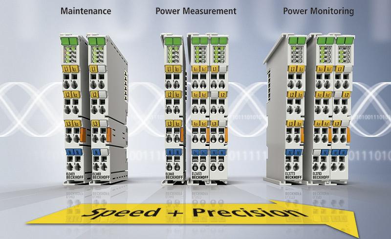 Beckhoff: Terminales EtherCAT de para monitoreo de red, control de proceso y monitorización de energía